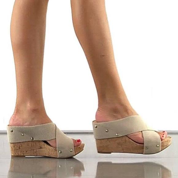 d45ae56a31d Lucky Brand Shoes - Lucky Brand Miller Criss Cross Wedges